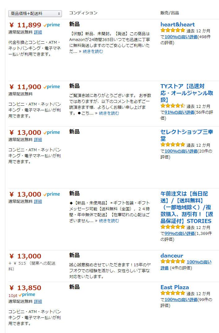 リペアジェルのアマゾンでの値段