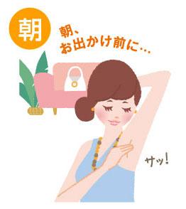 ラポマインの使い方(朝)