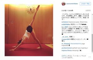 美脚芸能人&モデル 道端ジェシカさんさんの公式インスタグラム